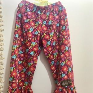 Matilda Jane Paint by Numbers Pants Size 6